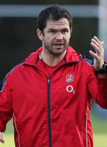 Andy Farrell England defence coach