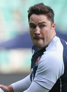 Brad Barritt England training 2012