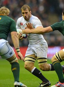 Chris Robshaw England v South Africa