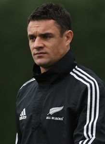 Dan Carter New Zealand training