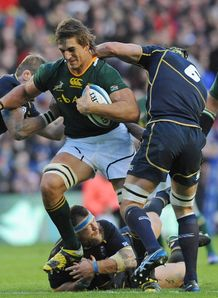 Eben Etzebeth South Africa 2012