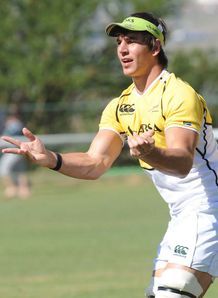 Eben Etzebeth Springboks training 2012