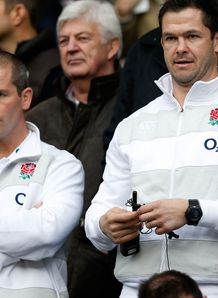 SKY_MOBILE Andy Farrell Stuart Lancaster - England autumn internationals