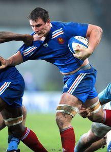 France s number eight Louis Picamoles v Argentina