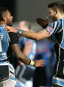 Glasgow Warriors Niko Matawalu and Tommy Seymour