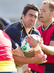 Kelly Brown Scotland training 2012