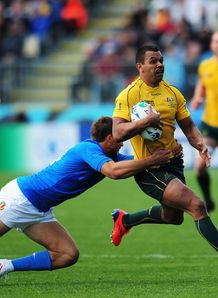 Kurtley Beale Aus v Italy RWC 2011