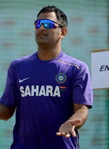 MS Dhoni unhappy with umpires despite India victory in first Test