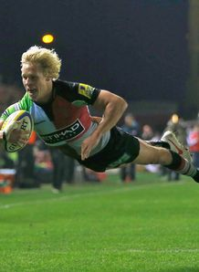 Matt Hopper Harlequins v Gloucester Aviva Premiership