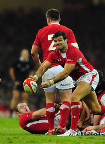 Mike Phillips Wales v NZ 2012