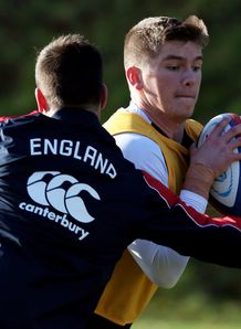 Owen Farrell England training 2012