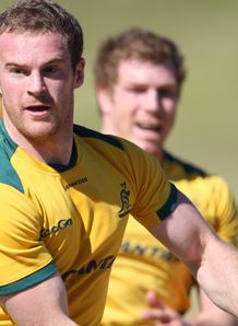 Pat McCabe Wallaby training 2012 RC