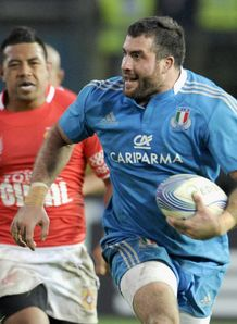 Robert Barbieri on a run for Italy