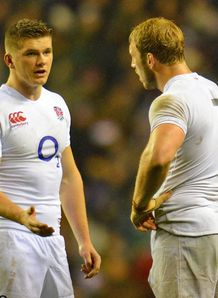 Chris Robshaw Owen Farrell England v South Africa