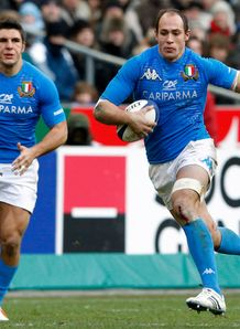 Sergio Parisse Italy captain 2012