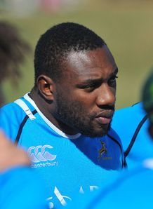 Tendai Beast Mtawarira Bok training 2012