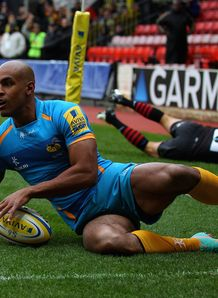 Tom Varndell Try Saracens
