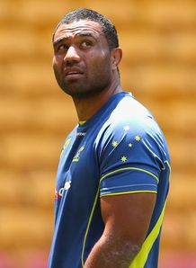 Wycliff Palu Wallabies number eight 2012