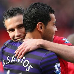 Santos and RVP: Buddies