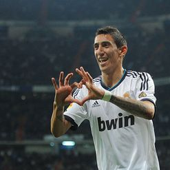 Di Maria: Scored Real's second