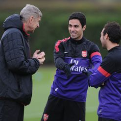 Arteta: Sucking up to the boss?