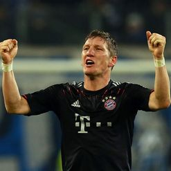 Schweinsteiger: On the sidelines