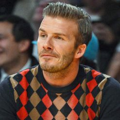 Beckham: May play soccer with dingoes