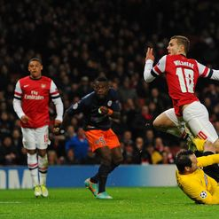 Wilshere: On target for Gunners