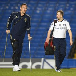 Terry: Injury not as bad as feared