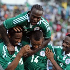 Moses (top) and Mikel (L): Influential figures