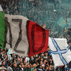 Lazio fans: In hot water