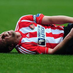 Cattermole: Knee injury