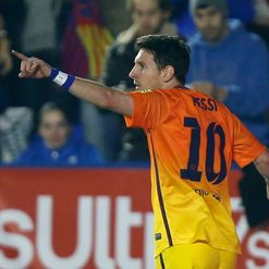Messi: In red-hot form