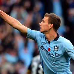 Dzeko: Happy to keep winning