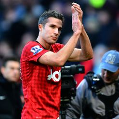Van Persie: Opened the scoring