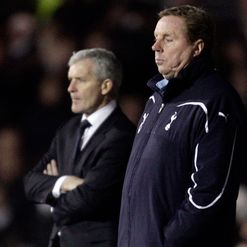 Redknapp: Laid down the gauntlet
