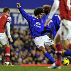 Fellaini: Netted the equaliser