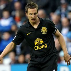 Jagielka: Wants top-four finish