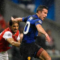 Van Persie: Bagged United's first goal