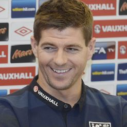 Steven Gerrard: Wins 100th England cap tonight