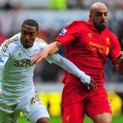 Jonathan De Guzman and Jose Enrique