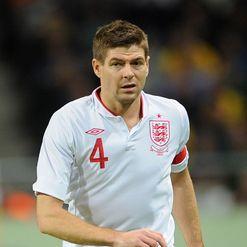 Steven Gerrard: Happy to give father his shirt against Sweden