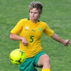 Van Wyk: Scored crucial goal