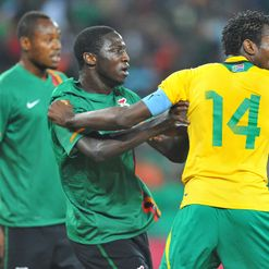 Zambia & Bafana: Tussled on the pitch