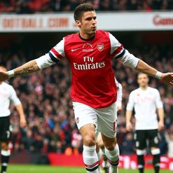 Giroud: Finding his feet