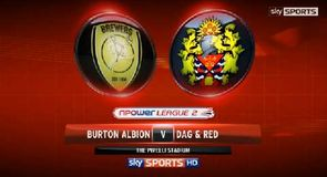 Burton 3-2 Dag and Red