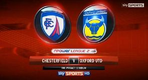 Chesterfield 2-1 Oxford