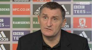 Mowbray dismisses Boro burnout
