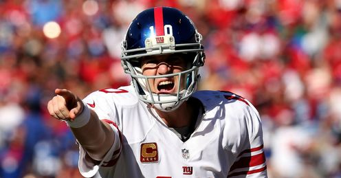 Eli Manning: Has not had the greatest of years according to Cadle