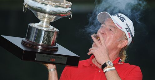 Miguel Angel Jimenez: Unlucky break